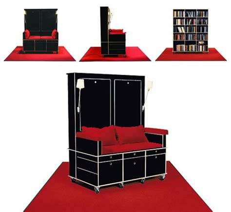 portable living room study sofa storage on wheels