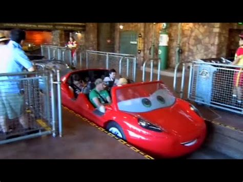 disneyland radiator springs racers ride in hd at disney california adventure