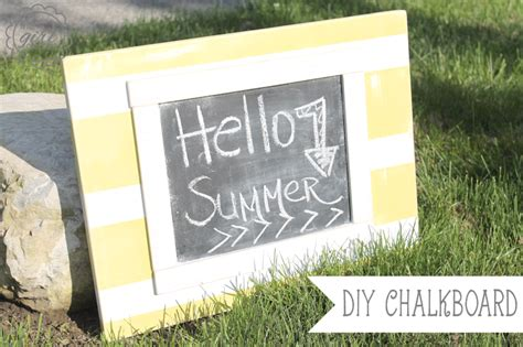 diy chalkboard home depot summer chalkboard giveaway with home depot and scotch