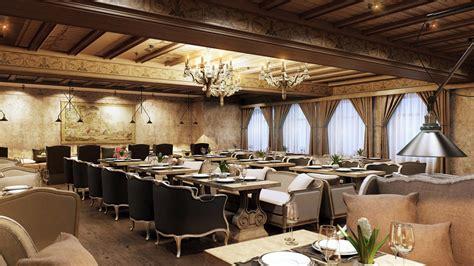 interior design conception   successful restaurant
