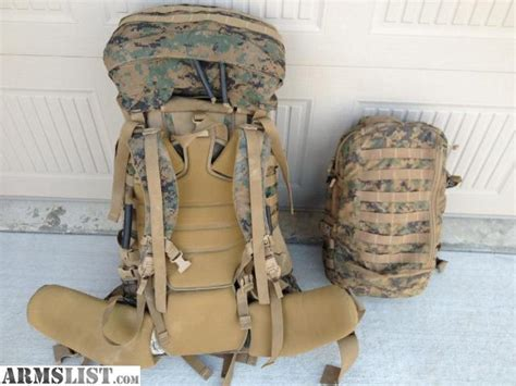 usmc pack for sale armslist for sale usmc ilbe pack 2 marpat with cover and assault pack