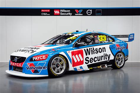 volvo racing a touch of white for volvo supercars