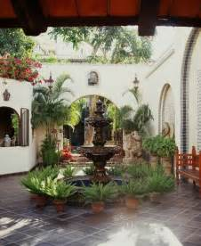 Spanish Courtyard Designs by Spanish Courtyard Designs So Replica Houses