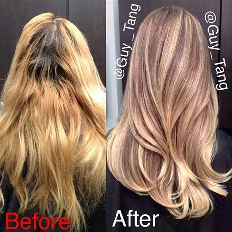 guy tang hair before and after bad ombre hair color newhairstylesformen2014 com