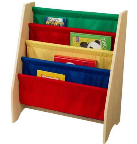 primary sling bookshelf 4 pocket
