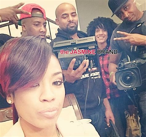 keyshia cole snatches her sister neffes wig off on in case you missed it keyshia cole producing a frankie