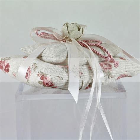 cuscino portafedi fiori vendita cuscino portafedi doppio con fiori