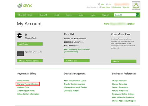 Gamertag Search By Email How Do I Change Or Remove A Payment Option From My Xbox Live Account