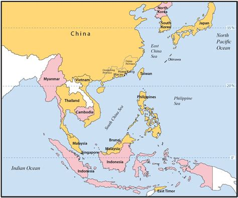 east asia map with country names map of eastern asia only pictures to pin on