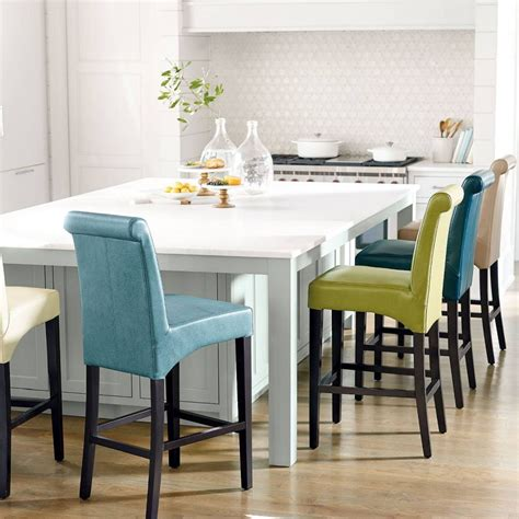 Stools Every Morning by 18 Colorful Bar Stools For Your Family Kitchen Interior