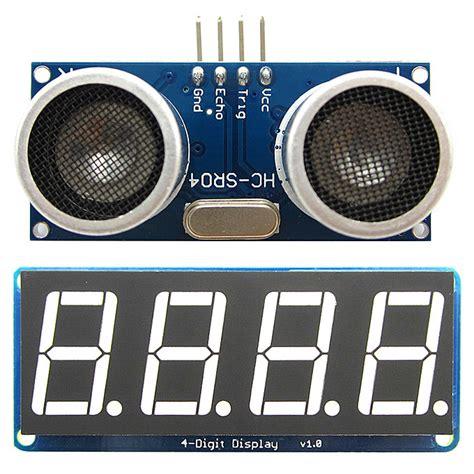 hc sr04 ultrasonic distance sensor code hc sr04 ultrasonic sensor distance measuring module 4