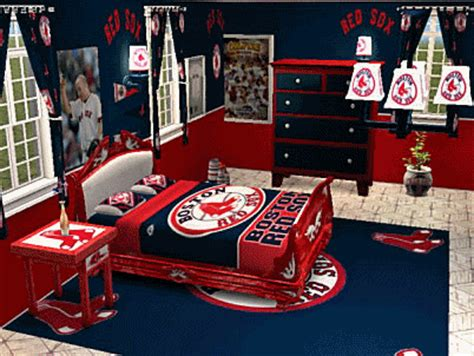 now that s a red sox themed room the best fans in