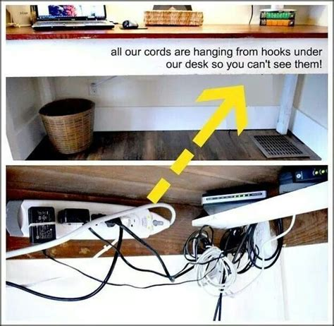 hide electric cords for the home pinterest