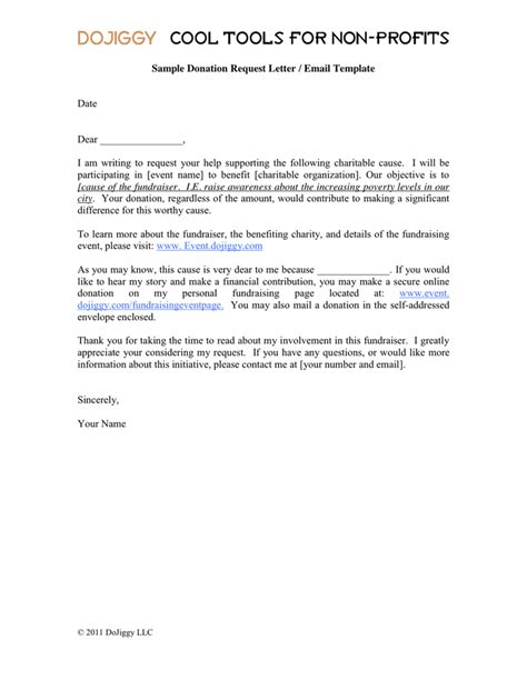 Donation Letter Email Donation Request Letter Email Template In Word And Pdf Formats