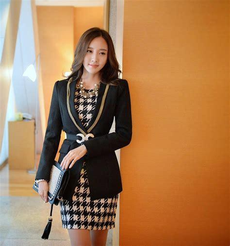 moda de oficina de mujer en pinterest faldas vestidos y moda coreana 26 modelos de ropa para ir al trabajo