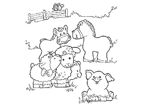 baby farm animal coloring pages 171 online coloring