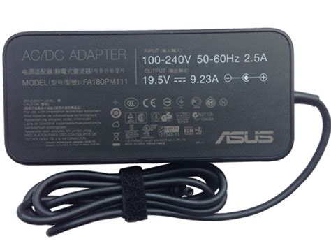 Asus Laptop Power Cord Best Buy 180w asus fa180pm111 adapter buy best asus fa180pm111 laptop ac adapter pack for asus laptop