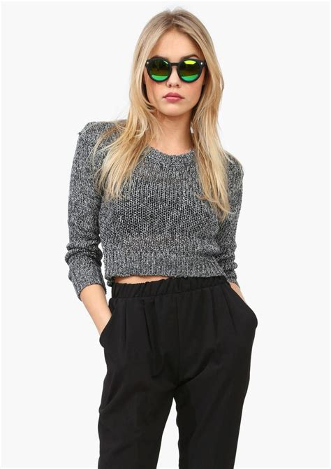cropped sweater cropped sweater randoms
