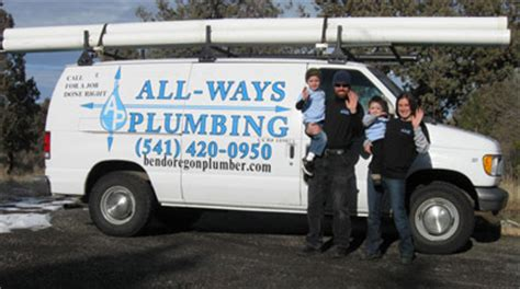 All Ways Plumbing by Bend Oregon Plumber All Ways Plumbing