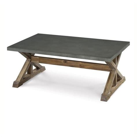 coffee table set beaumont by beaumont coffee table in aged zinc and bl