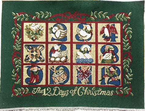 home decorators 12 days of deals tapestry panel home decor christmas the 12 days of