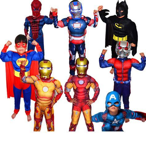 Dress Kostum Anak Perempuan Captain America 6 9 Tahun aliexpress comprar navidad ni 241 os batman superh 233 roe captain