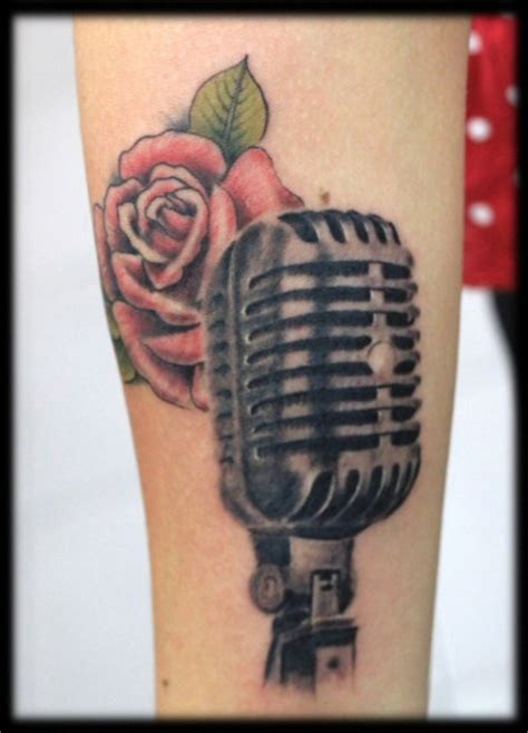 microphone tattoo thumb 40 best mic tattoo images on pinterest mic tattoo