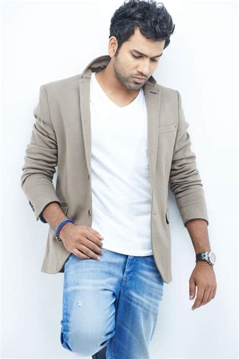rohit sharma unveils his new hair style on twitter and rohit sharma latest stills cricket pinterest cricket