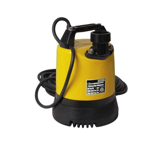 wacker 2 3 hp 2 in electric submersible utility