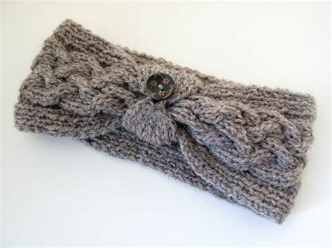 how to knit a simple headband knit cable headband pattern free crochet and knit