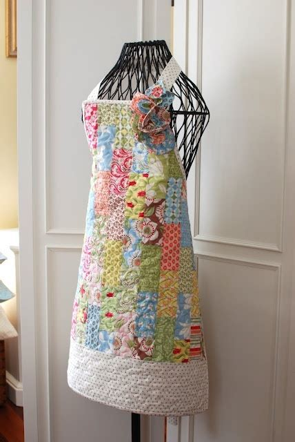 quilted apron craft ideas