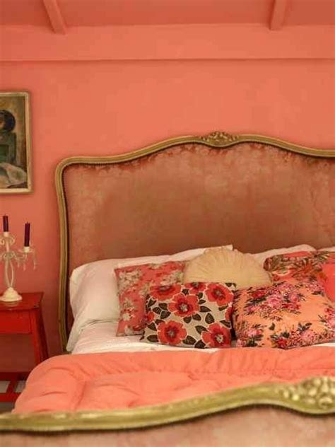 Salmon Colored Curtains Designs 183 Best Orange Coral Yellow Bedroom Images On Pinterest Bedrooms Bedroom Murals And Bedroom