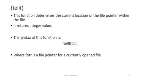 tutorialspoint file handling unit 10 files and file handling in c
