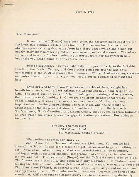 Birmingham Acceptance Letter Goldsmith Papers Background Information L Lts L Brandeis