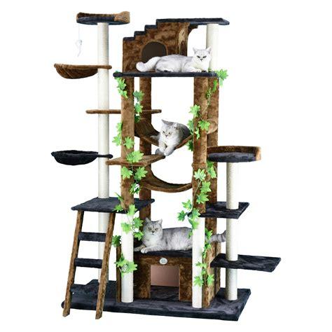 go pet club cat tree furniture 77 in high jungle