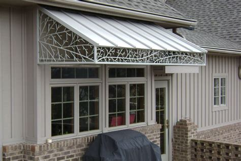 residential aluminum awnings residential awnings by omar