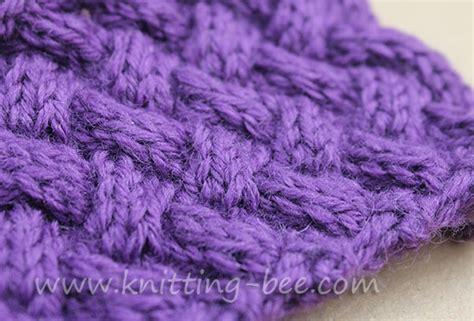 diagonal basketweave knitting pattern diagonal basketweave cable stitch medium knitting bee