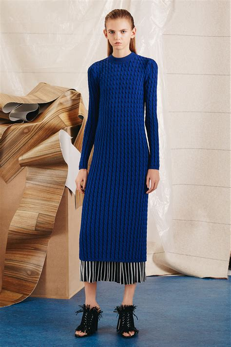 Sweater Blue 2014 proenza schouler pre fall 2015 collection featuring the