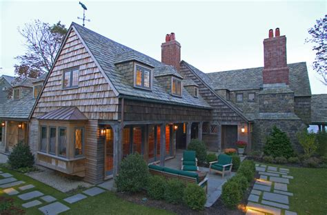 building onto your house massachusetts oceanfront home traditional exterior