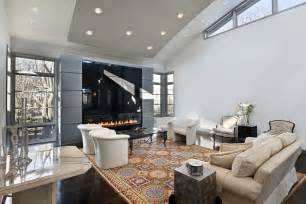 casual living room design ideas amp incredible furniture cavernous white with huge enclosed gas fireplace this