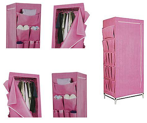 pink canvas wardrobe 163 7 99 home bargains