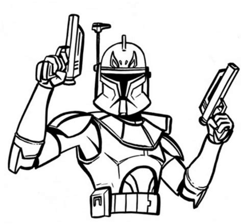 coloring pages wars the clone wars wars captain rex coloring pages coloring home