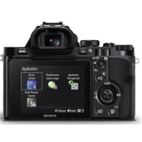 Sony A7 Kamera Mirrorless sony a7 mirrorless park cameras