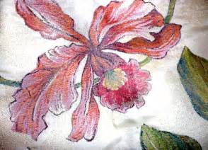 upholstery fabric jacquard large floral print by