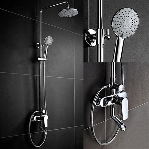 Bathroom Shower Pipe by Exposed Tub Shower Set Exposed Shower Shower Column