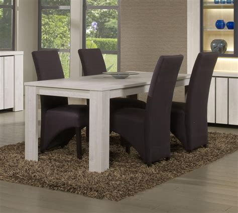 Table De Salle A Manger Blanche 1263 by Table Contemporaine Salle A Manger Blanche Maisonjoffrois