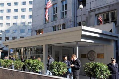 consolato americano allarme rientrato al consolato americano