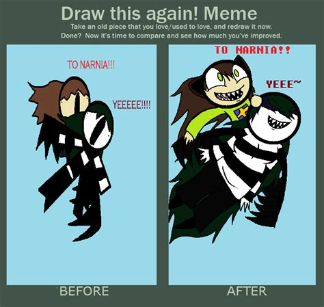 Draw This Again Meme Blank - draw this again meme by moatheoreoqueen on deviantart