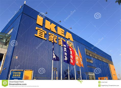 Kitchen Furniture by Ikea Store In Beijing China Editorial Photography Image