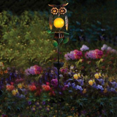 solar light garden stakes buy decorative solar lights for garden from bed bath beyond